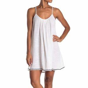 Elan   Size: S   White Shift Dress/ Coverup